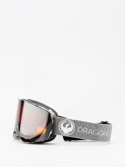 Brýle na snowboard Dragon NFX2 (mill/lumalens silver ion/dark smoke)
