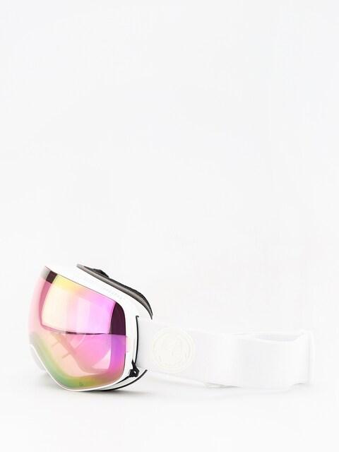Brýle na snowboard Dragon X2s (whiteout/lumalens pink ion/dark smoke)