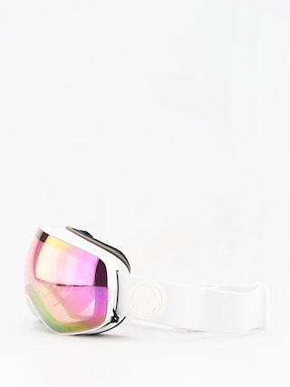 Bru00fdle na snowboard Dragon X2s (whiteout/lumalens pink ion/dark smoke)
