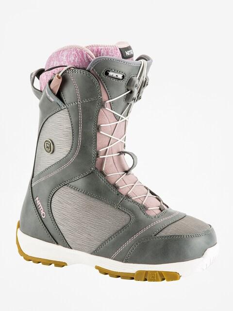 Boty na snowboard Nitro Monarch TLS Wmn (grey)