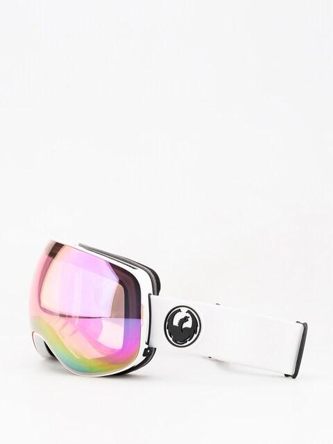 Brýle na snowboard Dragon X2 (white/lumalens pink ion/dark smoke)