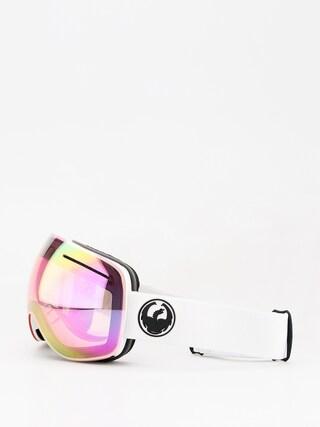 Brýle na snowboard Dragon X1 (white/lumalens pink ion/dark smoke)