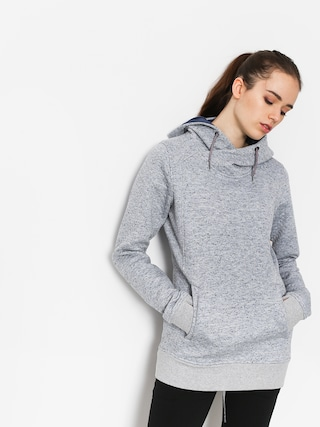Mikina s kapucí Roxy Dispy HD Wmn (warm heather grey)