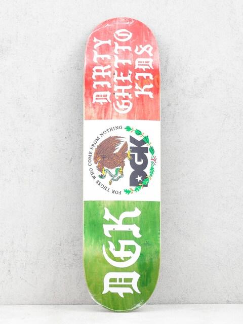 Deska DGK Coat Of Arms (green/white/red)