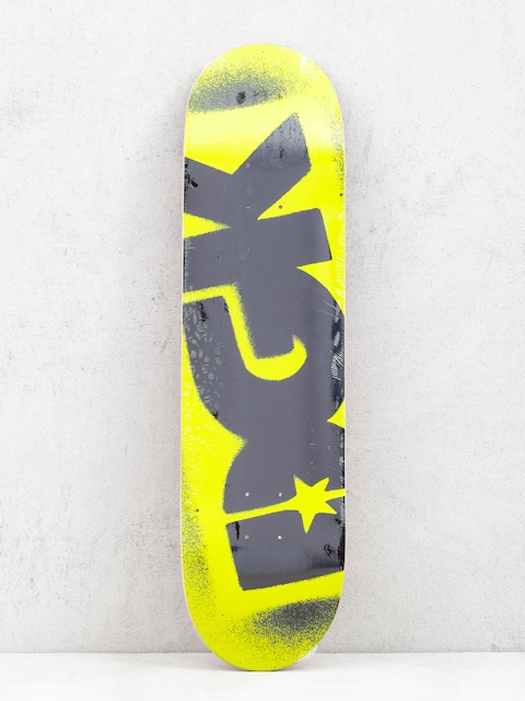 Deska DGK Fluorescent Logo (yellow)
