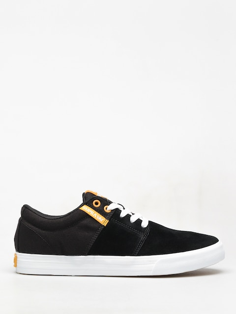 Boty Supra Stacks Vulc II (black/golden white)