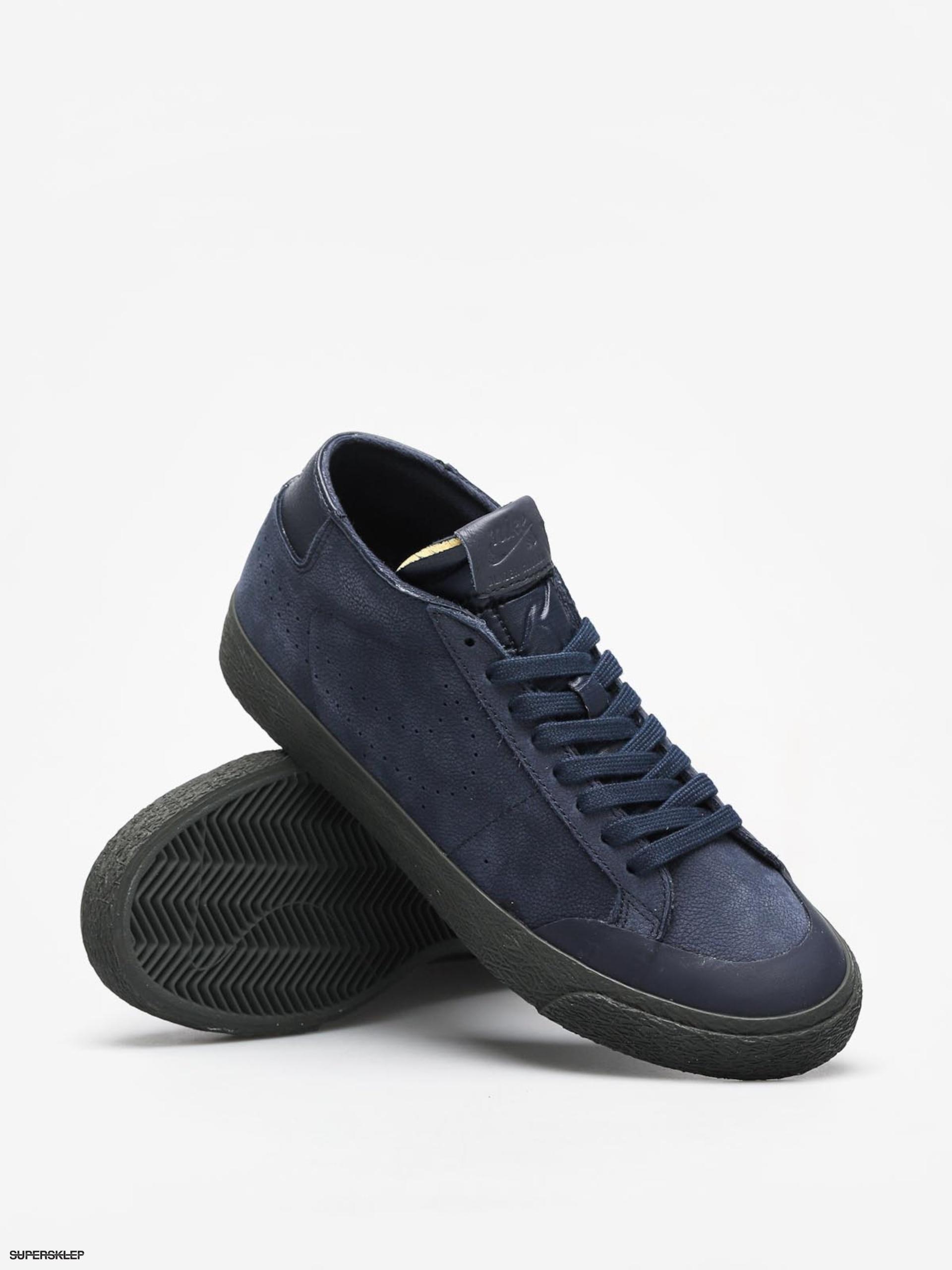 2207c76b5c5 Boty Nike SB Sb Zoom Blazer Chukka Xt Premium (obsidian obsidian)