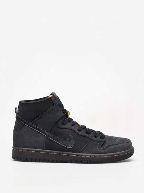 Boty Nike SB Sb Zoom Dunk High Pro Deconstructed Premium (black/black velvet brown peat moss)