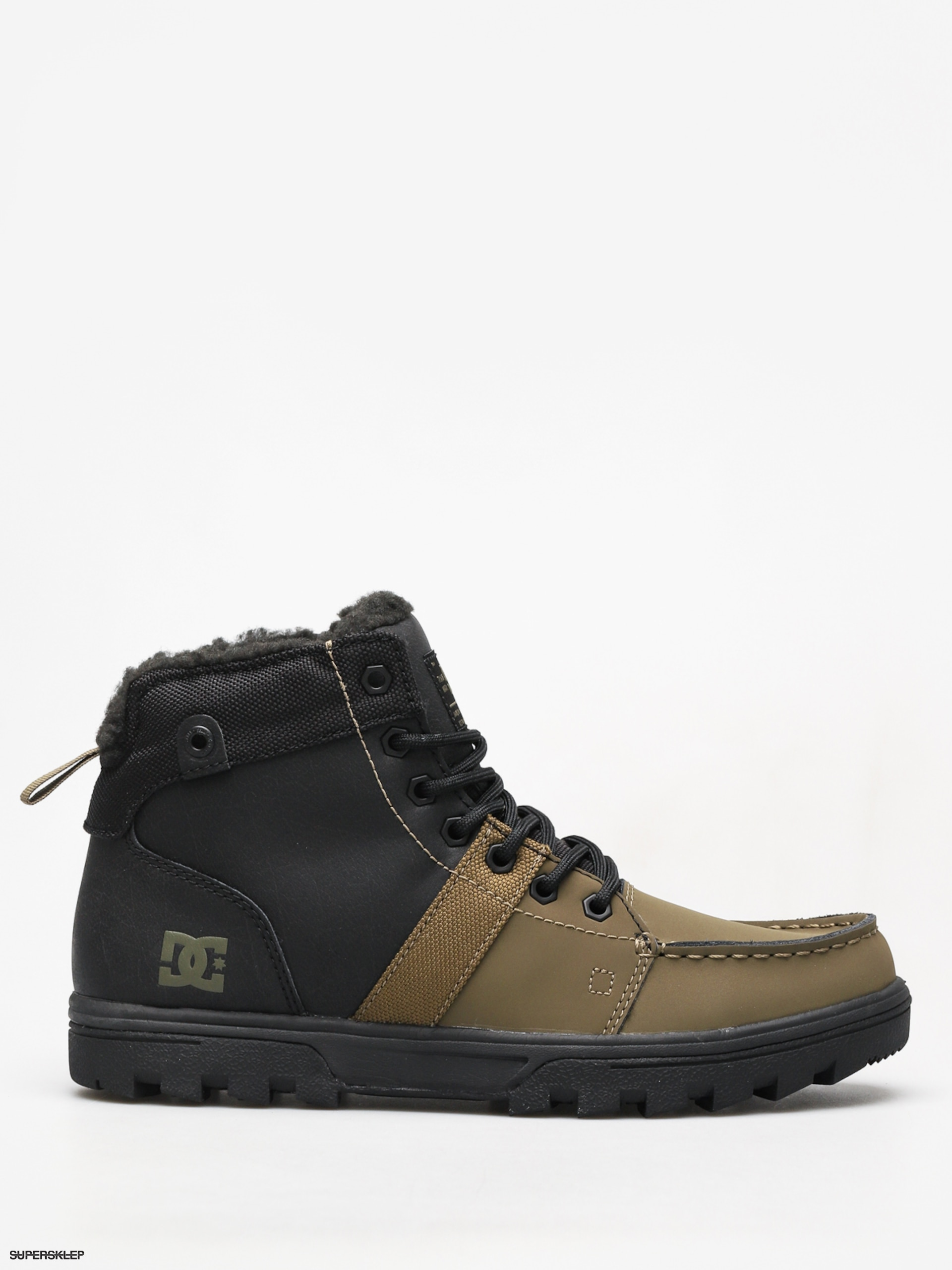 Zimní boty DC Woodland (black olive) f694b5d5d6