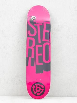 Deska Stereo Stacked (pink)