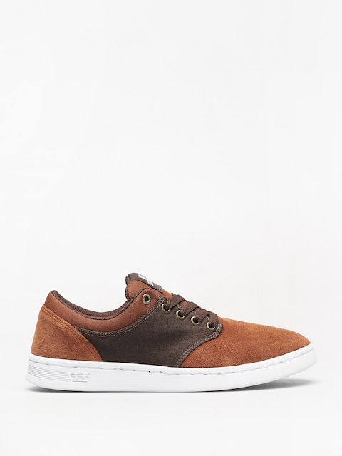 Boty Supra Chino Court (brown/demitasse white)