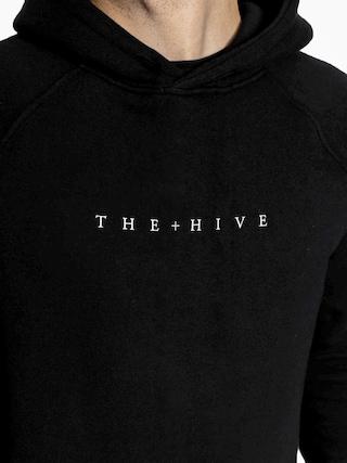Mikina s kapucí The Hive Moth HD (black)