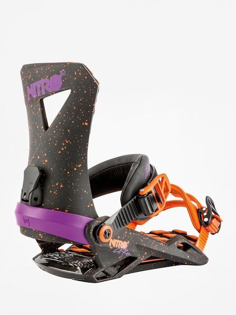 Snowboardová vázání Nitro Zero (throwback)