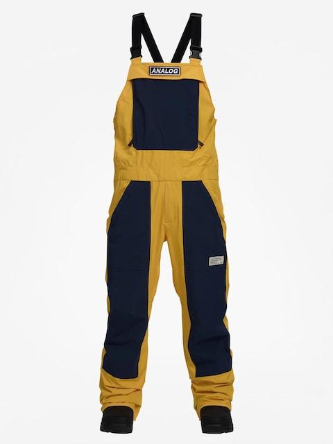 Snowboardové kalhoty  Analog Ice Out Bib (flshbk/modigo)