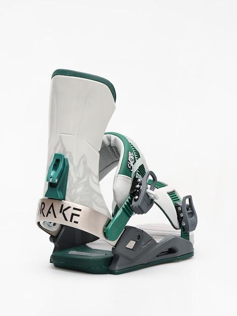 Snowboardová vázání Drake Super Sport (grey/black/green)