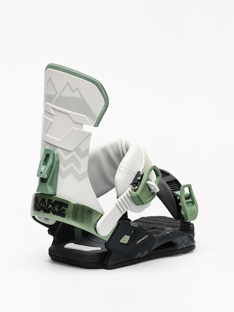 Snowboardová vázání Drake Reload (black/grey/green)