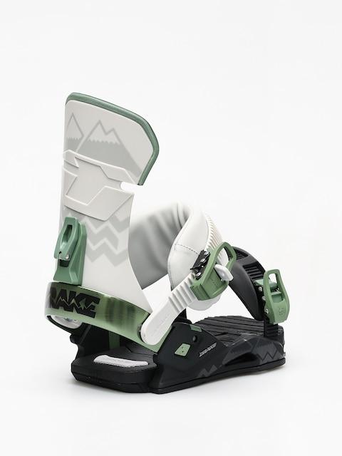 Snowboardová vázání Drake Reload (black/grey/green)