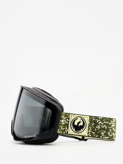 Brýle na snowboard Dragon PXV (scribe/dark smoke/lumalens flash blue/lumalens rose)