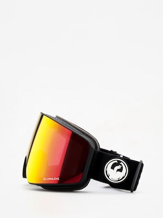 Bru00fdle na snowboard Dragon PXV (black/lumalens red ion/lumalens rose)