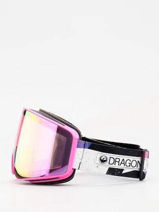 Brýle na snowboard Dragon PXV (tropic/lumalens pink ion/dark smoke)