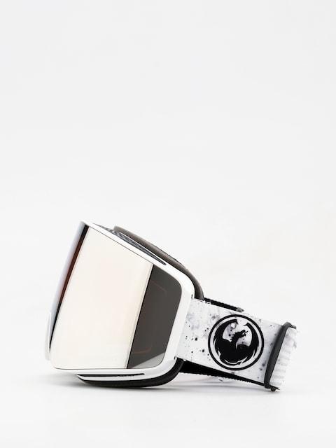 Brýle na snowboard Dragon PXV (galaxy white/lumalens silver ion/dark smoke)