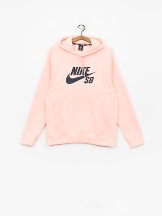 Mikina Nike SB Sb Icon (storm pink/obsidian)