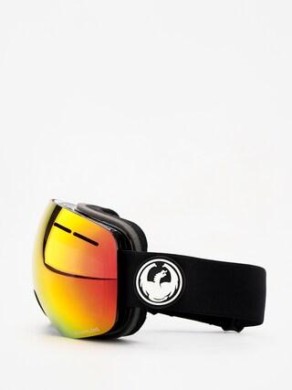 Brýle na snowboard Dragon X1s (black/lumalens red ion/lumalens rose)